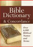 Bible Dictionary and Concordance, Castle Books, 0785825266