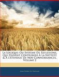 La Logique, Jean Pierre De Crousaz, 1144265266