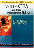 Wiley CPA Examination Review Practice Software 13. 0 Audit, Delaney, CPA, PhD, Patrick R and Whittington, CPA, PhD, ORay, 0470135263