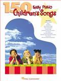 150 Easy Piano Children's Songs, , 0634025260