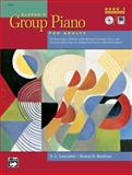 Alfred's Group Piano for Adults Student Book, Bk 1, Kenon D. Renfrow and E. L. Lancaster, 0739035266