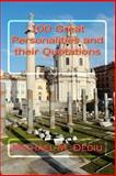 100 Great Personalities and Their Quotations, Michael Dediu, 1479185264