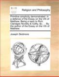 Primitive Simplicity Demonstrated, Joseph Skidmore, 1140755277
