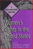 Women's Rights in the United States, Winston Langley and Vivian C. Fox, 0275965279