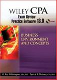 Wiley CPA Examination Review Practice Software 13. 0 BEC, Delaney, Patrick R. and Whittington, ORay, 0470135271