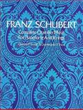 Complete Chamber Music for Pianoforte and Strings, Franz Schubert, 048621527X