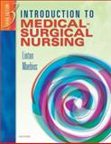 Introduction to Medical-Surgical Nursing, Linton, Adrianne Dill and Maebius, Nancy K., 0721695272