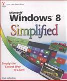 Windows 8 Simplified, Paul McFedries, 111813527X