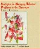 Strategic Management of Behavioral Problems, Kerr, Mary M. and Nelson, Michael C., 0023635274