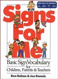 Signs for Me, Benjamin Bahan and Joe Dannis, 0915035278