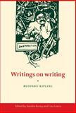 Writings on Writing, Kipling, Rudyard, 0521445272
