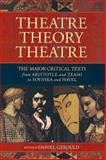Theatre/Theory/Theatre
