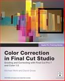 Color Correction in Final Cut Studio, Peachpit Press Staff and David Gross, 0321635280