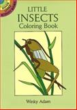 Little Insects Coloring Book, Winky Adam, 0486295281