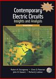 Contemporary Electric Circuits : Insights and Analysis, Strangeway, Robert and Petersen, Owe G., 0131115286