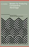 Models for Analyzing Comparative Advantage, Kendrick, David A., 0792305280