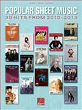 Popular Sheet Music - 30 Hits From 2010-2013, Hal Leonard Corp., 1480345288