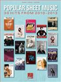 Popular Sheet Music - 30 Hits From 2010-2013, Hal Leonard Corp., 1480345288
