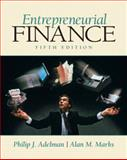 Entrepreneurial Finance, Adelman, Philip J. and Marks, Alan, 013502529X