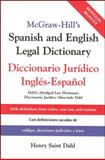 McGraw-Hill's Spanish and English Legal Dictionary 1st Edition