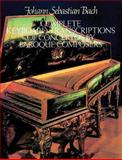 Complete Keyboard Transcriptions of Concertos by Baroque Composers, Johann Sebastian Bach, 0486255298