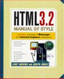 HTML 3.2 Manual of Style, Aronson, Larry, 1562765299
