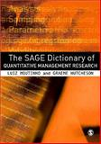 The SAGE Dictionary of Quantitative Management Research, , 1412935296