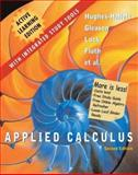 Applied Calculus Active Learning Edition, Hughes-Hallett, Deborah and Lock, Patti Frazer, 047145530X