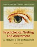 Psychological Testing and Assessment : An Introduction to Tests and Measurement, Cohen, Ronald Jay and Swerdlik, Edward, 0078035309