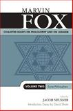 Collected Essays on Philosophy and on Judaism, Marvin Fox, 0761825304