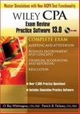 Wiley CPA Examination Review Practice Software 13. 0, Complete Set, Delaney, Patrick R. and Whittington, ORay, 0470135301