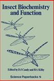 Insect Biochemistry and Function, , 0412215306