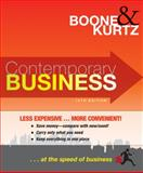 Contemporary Business, 14th Edition Binder Ready Version, Boone, Louis E. and Kurtz, David L., 0470565306