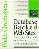 RDBMS Backed Web Sites, Greenspun, Philip, 1562765302