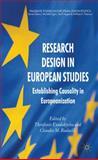 Research Design in European Studies : Establishing Causality in Europeanization, , 0230285317