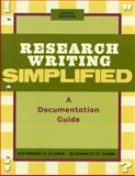 Research Writing Simplified, Clines, Raymond H. and Cobb, Elizabeth R., 0205685315