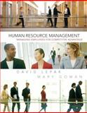 Human Resource Management, Lepak, David and Gowan, Mary, 0131525328