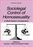 Sociolegal Control of Homosexuality : A Multi-Nation Comparison, , 0306455323