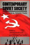 Contemporary Soviet Society 9780275905323