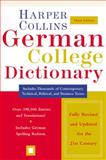HarperCollins German College Dictionary, HarperCollins Publishers Ltd. Staff, 0060515325