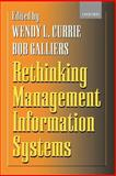 Rethinking Management Information Systems : An Interdisciplinary Perspective, , 0198775326