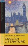 The Norton Anthology of English Literature, Greenblatt, Stephen and Abrams, M. H., 0393925323