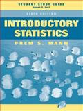 Introductory Statistics, Student Study Guide, Mann, Prem S., 047175532X
