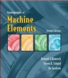 Fundamentals of Machine Elements, Hamrock, Bernard J., 0072465328