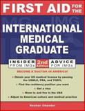 First Aid for the International Medical Graduate, Chander, Keshav, 0071385320