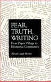 Fear, Truth, Writing 9780791425329
