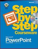 Microsoft PowerPoint Version 2002 Step-by-Step Courseware, Microsoft Press, 0072955333