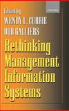 Rethinking Management Information Systems 9780198775331