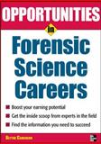 Opportunities in Forensic Science, Camenson, Blythe, 0071545336