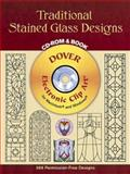 Traditional Stained Glass Designs, Dover Staff, 048699533X